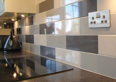 Grey Tiled Kitchen Walls Grey Tiled Kitchen Walls linear grey gl